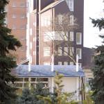 Вид от гостинницы Ростов